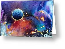 Luna Violet Greeting Card