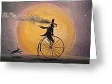 Lunar Cycle Greeting Card