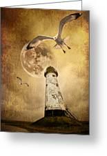 Lunar Flight Greeting Card