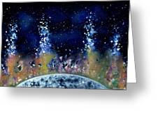 Lunar Genesis Greeting Card