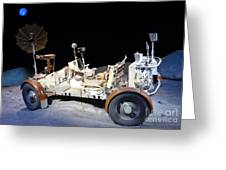 Lunar Rover Greeting Card