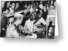 Lunch Counter Sit-in, 1963 Greeting Card by Granger