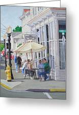 Lunchtime In Florence, Or Greeting Card