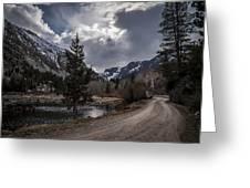 Lundy Lake Road Greeting Card