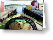 Lunenburg - Nova Scotia Greeting Card