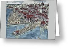 Lunenburg Port Greeting Card