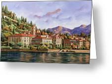 lungolago di Bellagio Greeting Card