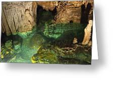 Luray Caverns - Wishing Well - Virginia Greeting Card