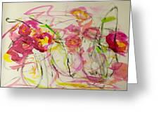 Lush Flowers Greeting Card