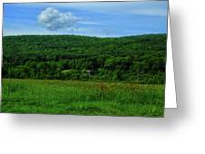 Lush Green Everything On The Ma At Greeting Card