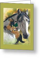 Lusitano Greeting Card