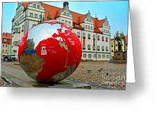 Lutherstadt World Greeting Card