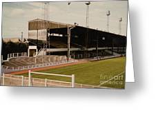 Luton Town - Kenilworth Road - Main Stand East Side 1 - 1970s Greeting Card