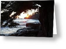 Lutsen Shore Four Greeting Card