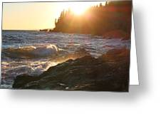 Lutsen Shore Greeting Card