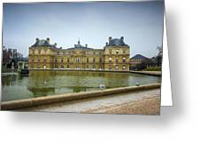 Luxembourg Palace Greeting Card