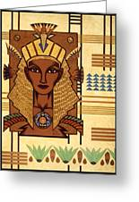 Luxor Deluxe Greeting Card by Tara Hutton