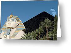 Luxor Hotel Las Vegas Greeting Card
