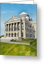 Luzerne County Courthouse Greeting Card