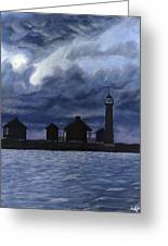 Lydia Ann Lighthouse Greeting Card