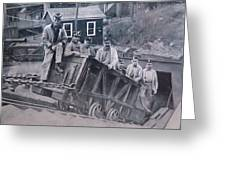 Lykens Valley Miners Greeting Card
