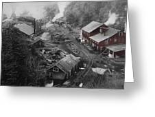 Lykens Valley Mining Greeting Card