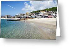 Lyme Regis Beaches - June 2015 Greeting Card