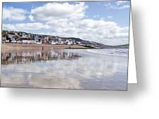 Lyme Regis Seafront Greeting Card