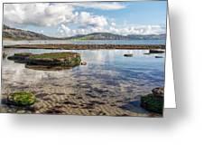 Lyme Regis Seascape 3 - October Greeting Card