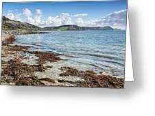 Lyme Regis Seascape 5 - October Greeting Card