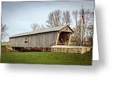 Lynchburg Covered Bridge Greeting Card