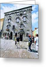 Lynches Castle Galway City Greeting Card