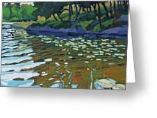 Lyndhurst Lake Greeting Card