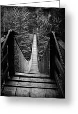 Lynn Canyon Bridge Greeting Card