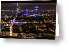 Lyon's Skyscrapers Greeting Card