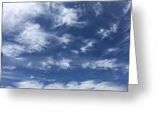 Lyrical Skyscape Greeting Card