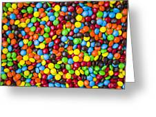 M And M Candy Real Chocolate Minis Greeting Card