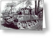 M4 Sherman Greeting Card