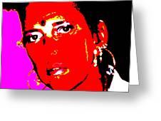 Ma Jaya Sati Bhagavati 11 Greeting Card by Eikoni Images