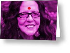 Ma Jaya Sati Bhagavati 12 Greeting Card by Eikoni Images