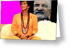 Ma Jaya Sati Bhagavati 15 Greeting Card by Eikoni Images