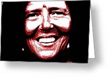 Ma Jaya Sati Bhagavati 4 Greeting Card