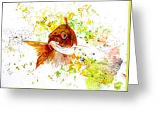 Ma Koi Greeting Card
