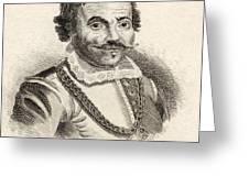 Maarten Harpertszoon Tromp 1598 - 1653 Greeting Card