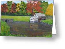 Mabry Grist Mill  Greeting Card