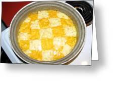 Mac And Cheese Greeting Card