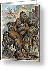 Macaques For Responsible Travel Greeting Card