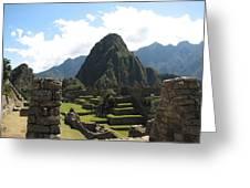 Macchu Picchu 10 Greeting Card