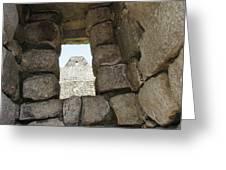 Macchu Picchu 6 Greeting Card