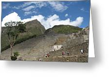 Macchu Picchu 7 Greeting Card